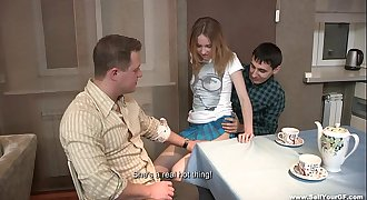 Hookup tube8 dessert Isabel Stern youporn on a redtube kitchen table teen-porn