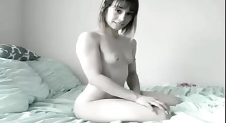 Petite Teen Flexing and Squirting