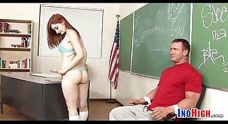 Redhead Petite schoolgirl fuck 8 81