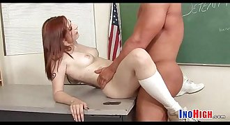 Redhead Petite schoolgirl fuck 9 82