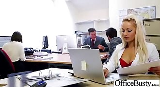 (lou lou) Big Tits Office Slut Lady Get Hard Style Nailed video-24