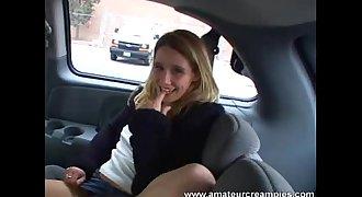 Kassity pretty teen anal creampie